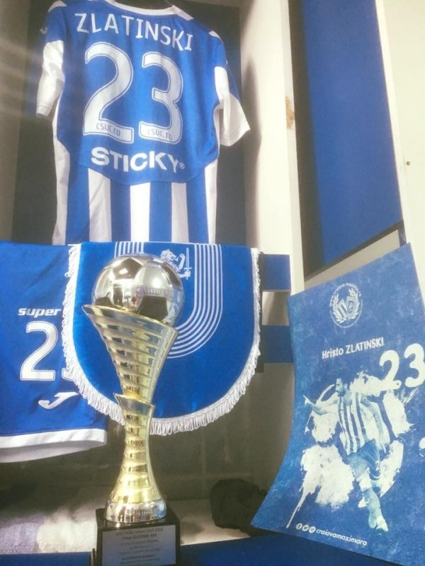 Trofeul pentru Cel mai frumos gol al sezonului 2015-2016 in vestiar