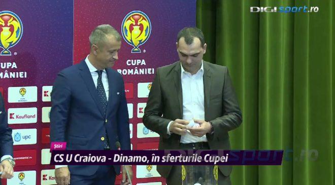 Meci de foc în sferturile Cupei României