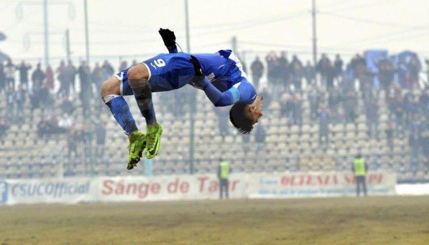 Lectie de fotbal, Stiinta – Voluntari 5-0