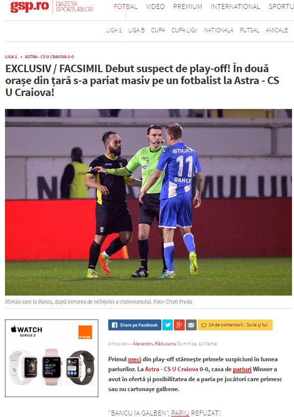 Universitatea Craiova acționează în judecată Gazeta Sporturilor