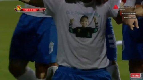 Gol dedicat unui copil…